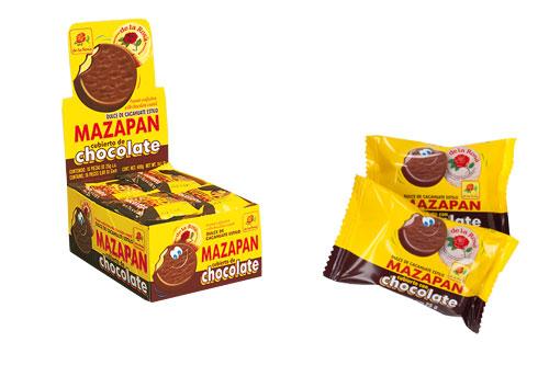 D.L.R MAZAPAN CUBIERTO DE CHOCOLATE 24/16